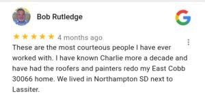 Marietta GA Roofing Contractor Reviews